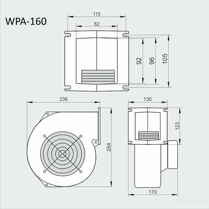 Вентилятор для фанкойла схема