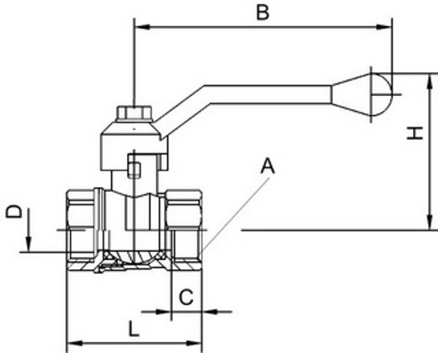 технические параметры шарового крана бронзового 10с18п1 наверх можно